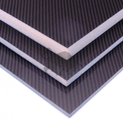 Carbon Fibre Foam Sandwich Panel